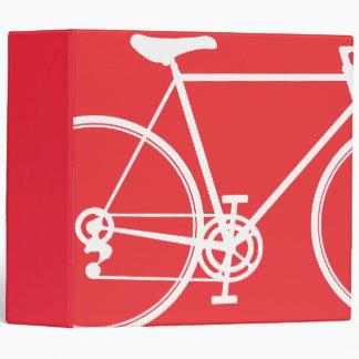 """Diseño abstracto rojo de la bicicleta carpeta 2"""""""