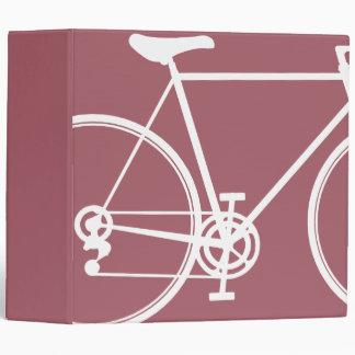 """Diseño abstracto rosado de la bicicleta carpeta 2"""""""