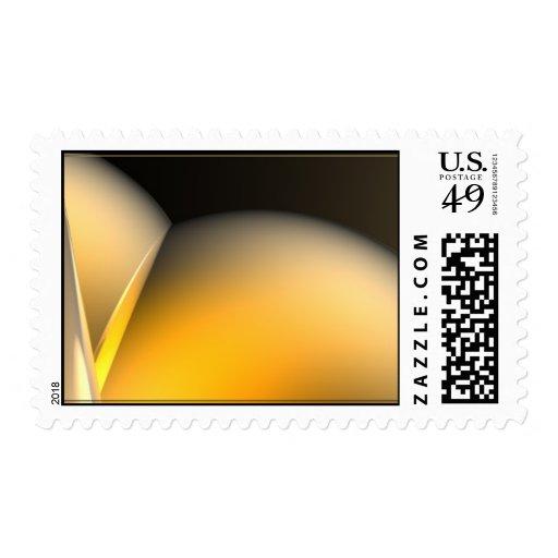 Diseño abstracto sello