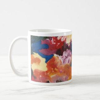 Diseño abstracto taza de café