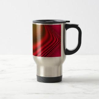 diseño abstracto taza térmica