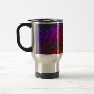 Diseño abstracto tazas