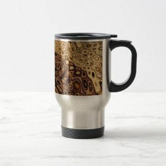Diseño abstracto tazas de café