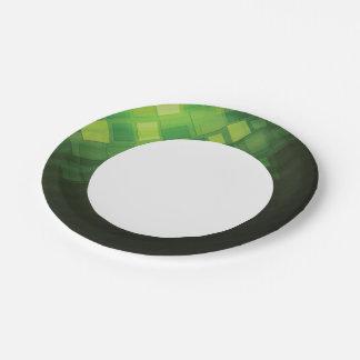 Diseño abstracto verde de la tecnología