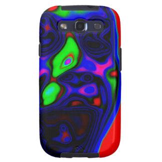 Diseño activo psico de la cara galaxy SIII cárcasas