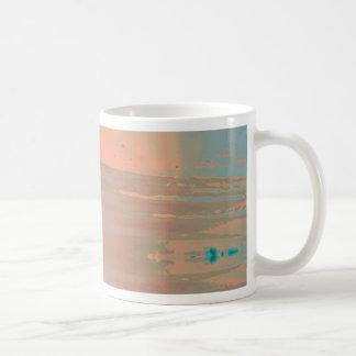 Diseño adaptable abstracto contemporáneo suave taza clásica