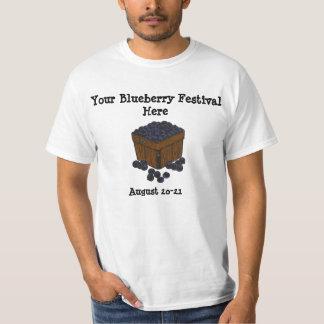 Diseño adaptable de la camisa del festival del