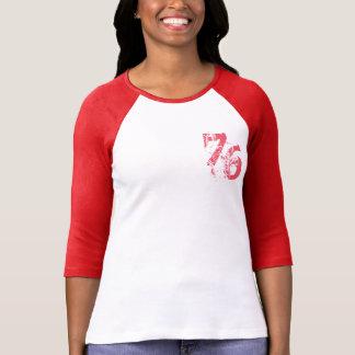 diseño adaptable de la camiseta number-76