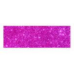 Diseño adaptable de la chispa rosada del brillo tarjeta de visita