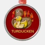 Diseño adaptable de Turducken Ornamentos De Reyes Magos