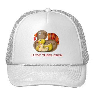 Diseño adaptable de Turducken Gorros