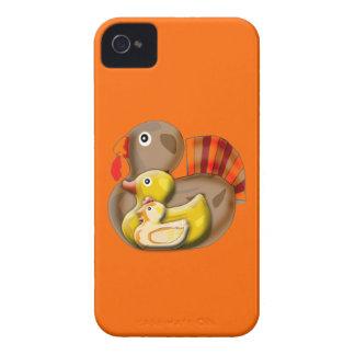 Diseño adaptable de Turducken iPhone 4 Carcasas