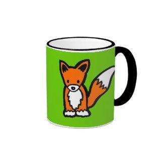 Diseño adaptable lindo del Fox de Kawaii Tazas