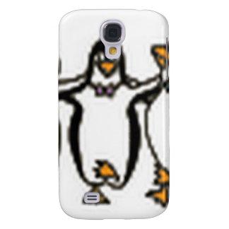 Diseño adorable de los pingüinos del baile