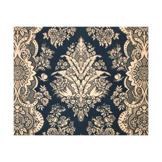 Diseño afiligranado floral de la suposición del mo impresiones de lienzo