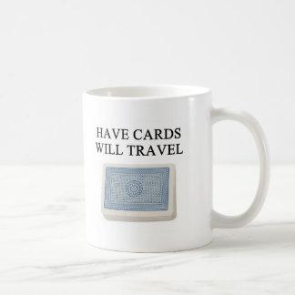 diseño afortunado del jugador de póker taza de café