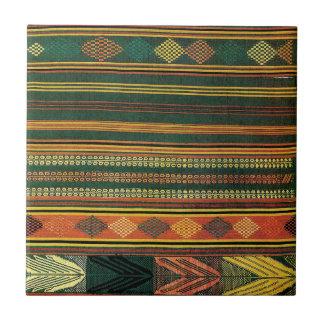 Diseño africano #10 @ Stylnic Azulejo Cuadrado Pequeño
