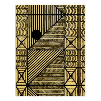 Diseño africano 12 Stylnic Postales