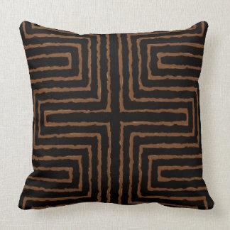 Diseño africano de la impresión tribal del cojín decorativo