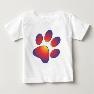 Diseño agradable de la impresión de la pata camisas