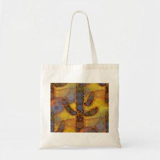 Diseño al sudoeste del mosaico del cactus del bolsa tela barata