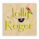Diseño alegre w/Parrot del texto de Rogelio y remi Escultura Fotografica