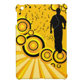 Diseño amarillo de la nota de la música