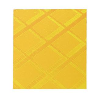Diseño amarillo del control bloc