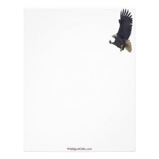 Diseño americano de Eagle calvo para los Membrete