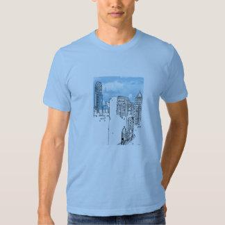 Diseño americano de la camiseta de RokCloneDesigns Playeras