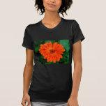 Diseño anaranjado de la maravilla del Calendula Camiseta