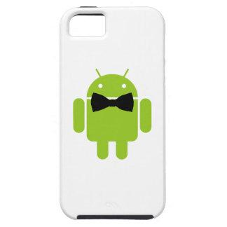 Diseño androide del icono del robot del estilo funda para iPhone SE/5/5s