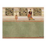 Diseño Anglo-Japonés de la pared, c.1860 (w/c y Tarjetas Postales
