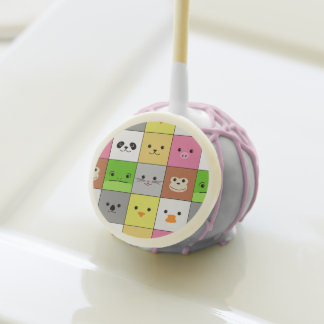Diseño animal colorido lindo del modelo de los cua