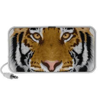 diseño animal de la cabeza del tigre de la fauna portátil altavoces