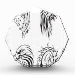 Diseño animal de los vectores del tatuaje