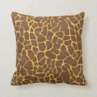 Diseño animal del modelo de la jirafa almohada
