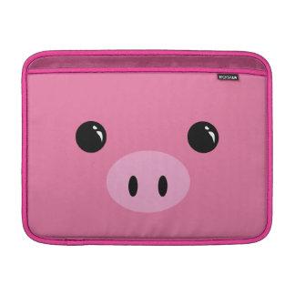 Diseño animal lindo de la cara del cochinillo rosa