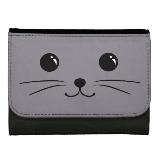 Diseño animal lindo de la cara del ratón gris