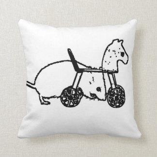 diseño animal lindo del caballo de la afición del almohada