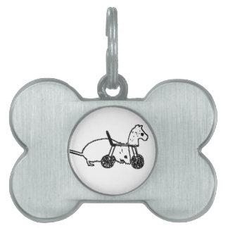 diseño animal lindo del caballo de la afición del placa de mascota