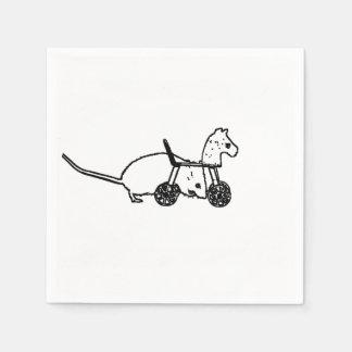diseño animal lindo del caballo de la afición del servilleta de papel