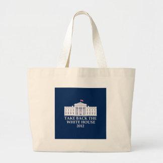 Diseño anti de Barack Obama Bolsa De Mano