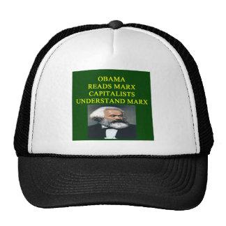 diseño anti de obama gorras de camionero