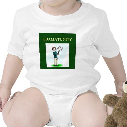 Diseño anti de OBAMUNISM Barack Obama Traje De Bebé