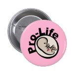 Diseño antiabortista del feto pin