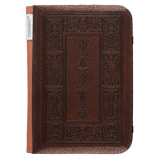 Diseño antiguo del libro grabado en relieve del cu