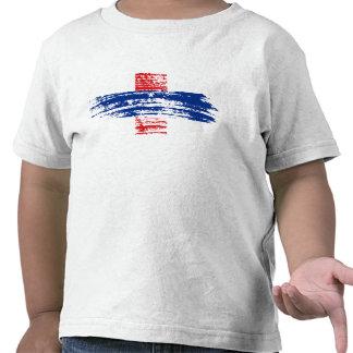 Diseño antillano holandés fresco de la bandera camiseta