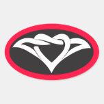 Diseño anudado del corazón