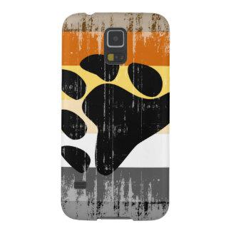 DISEÑO APENADO BANDERA del ORGULLO del OSO - 2014 Carcasa De Galaxy S5